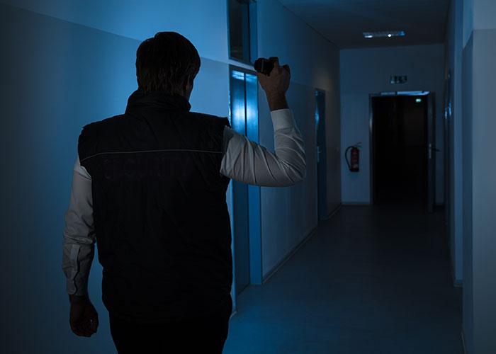 Rondier intervenant à Sarcelles